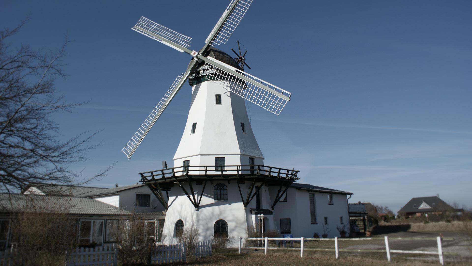 Denkmalschutz- Mühle