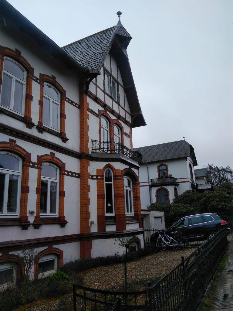 Frontansicht Haus Wrangelstraße Flensburg