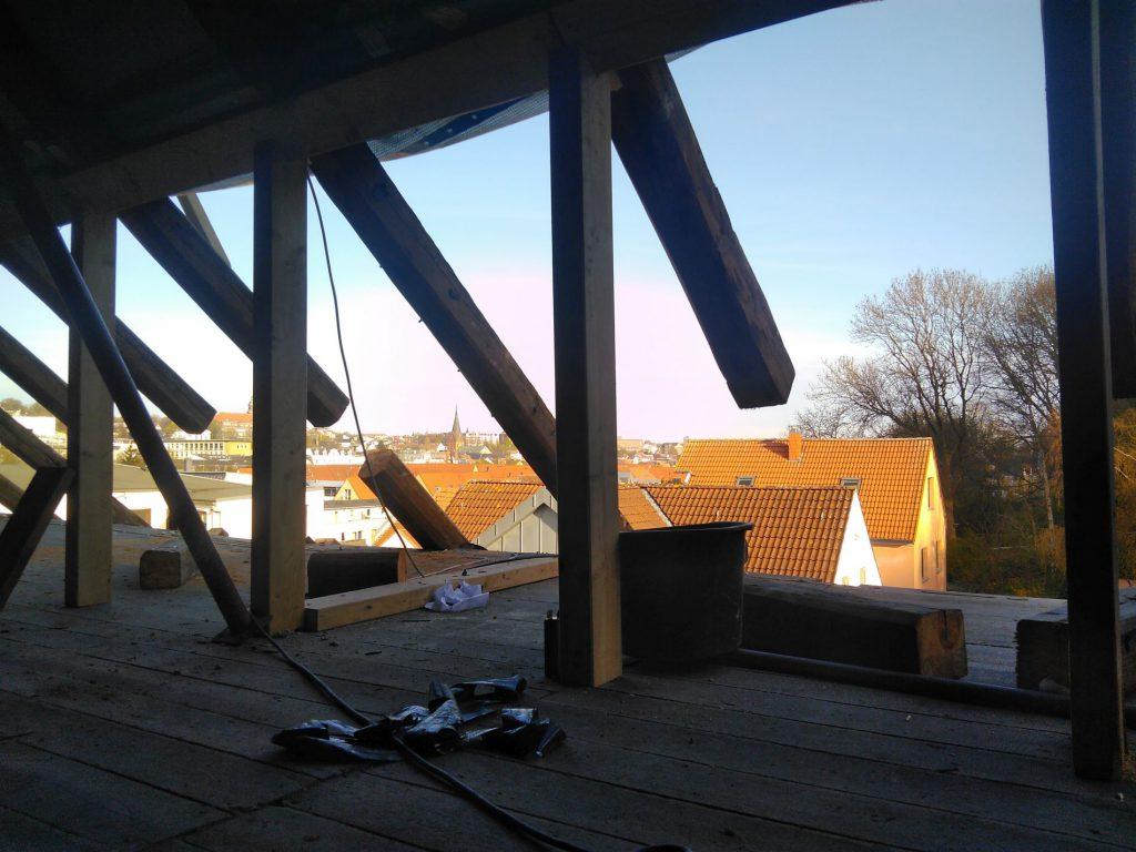 Sparrensanierung Dach