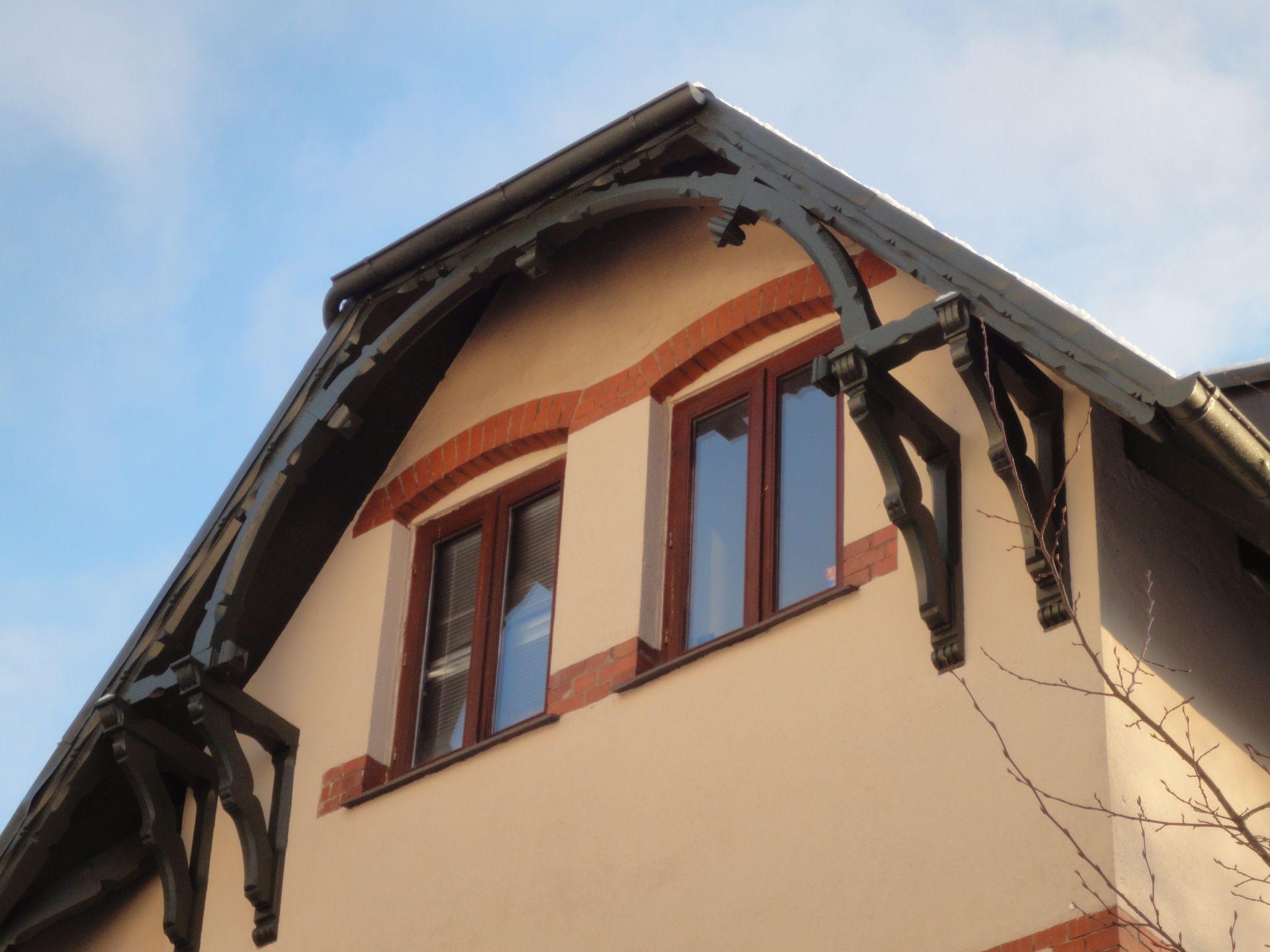 Freigebinde nach der Sanierung in der Wrangelstraße in Flensburg