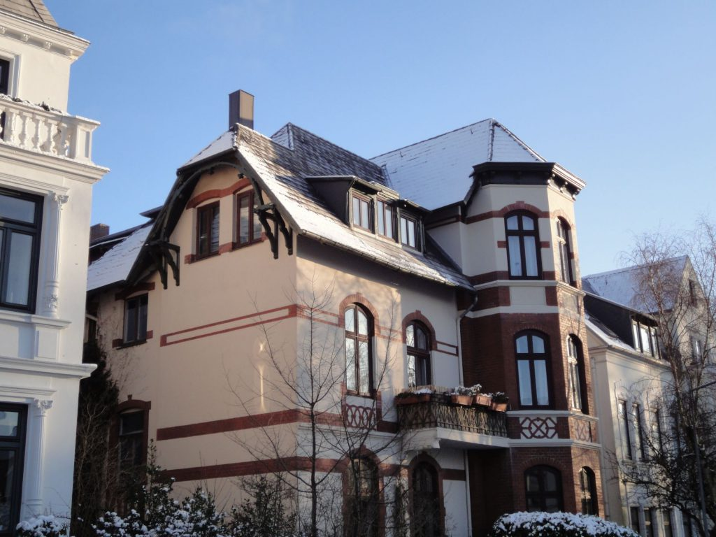 Gebäude Wrangelstraße Flensburg