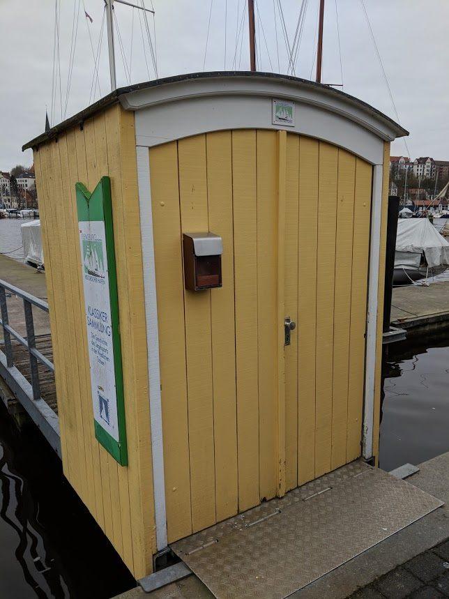 Kartenverkaufshütte Flensurger Hafen