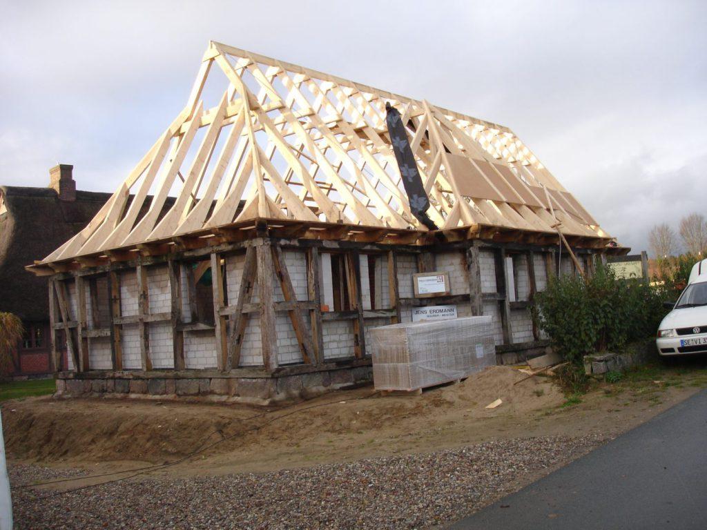 Erstellung Dach