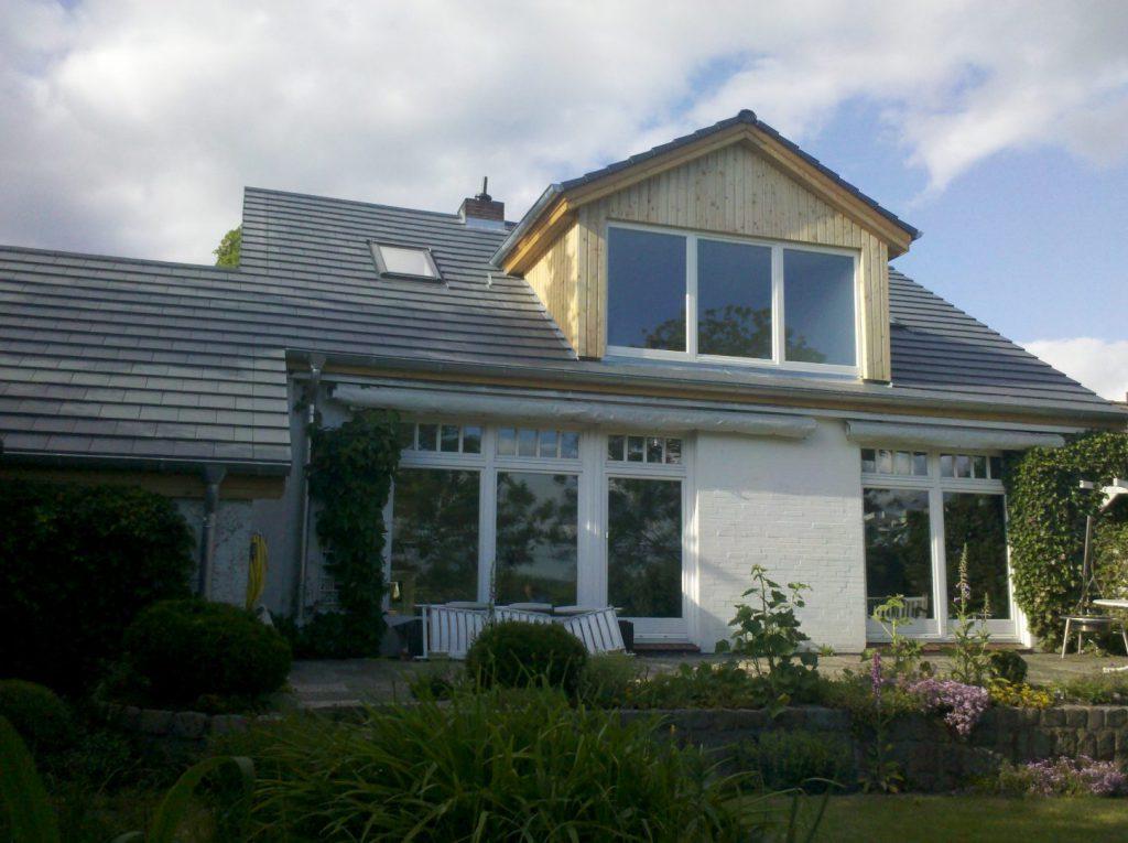 Dachsanierung mit Flachdachziegel