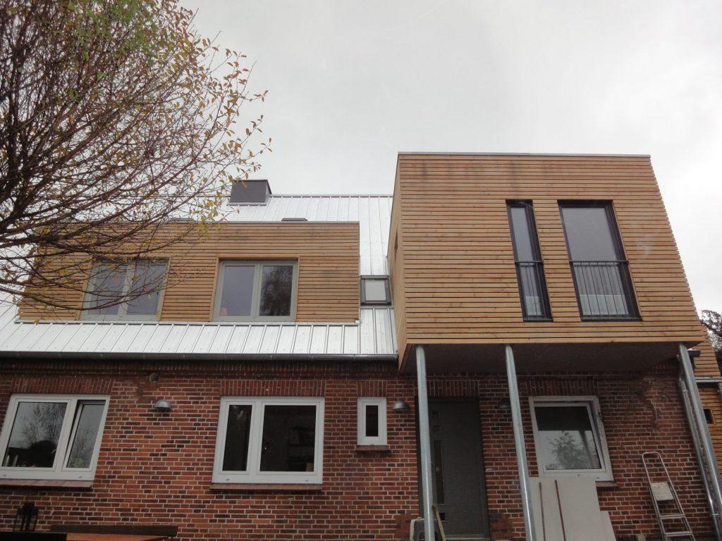Detailansicht Wohnraumvergrößerung Dachgeschoss